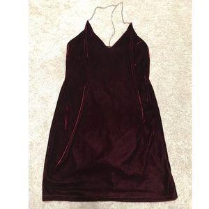 Forever 21 Dresses - Mini velvet dress